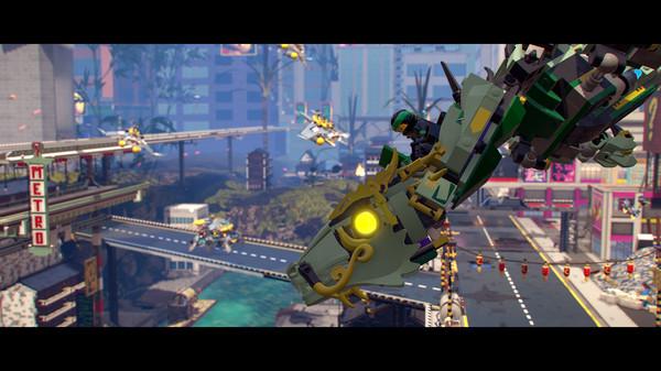 Скриншот №7 к The LEGO® NINJAGO® Movie Video Game