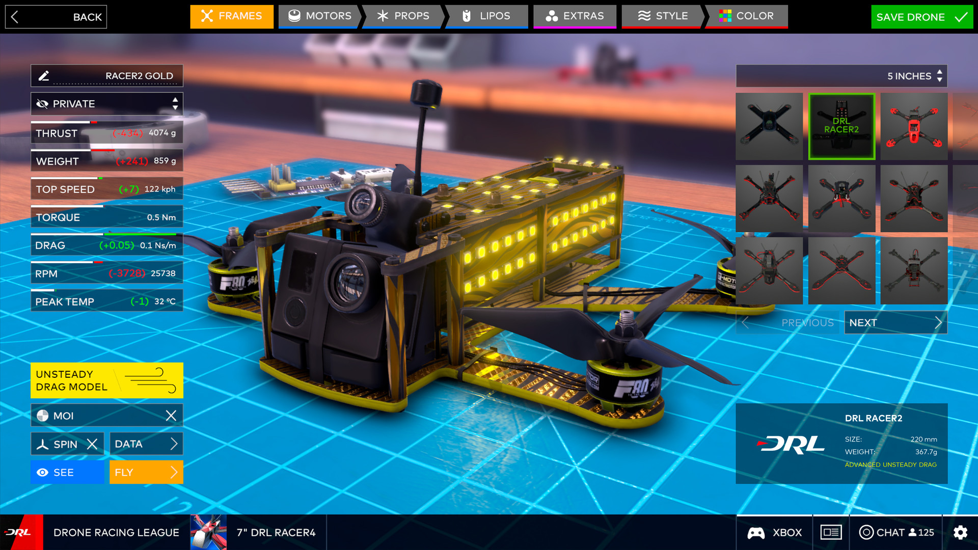 The Drone Racing League Simulator on Steam