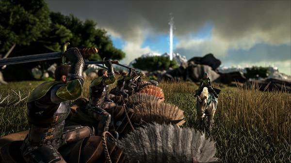 Скриншот №2 к Ragnarok - ARK Expansion Map