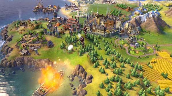 Скриншот №8 к Sid Meiers Civilization® VI Rise and Fall