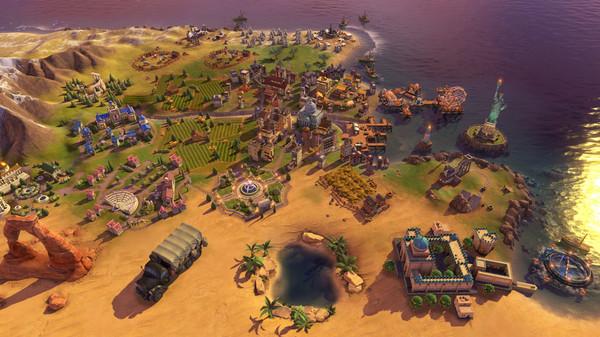 Скриншот №2 к Sid Meiers Civilization® VI Rise and Fall