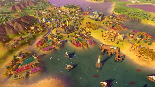 Скриншот №5 к Sid Meiers Civilization® VI Rise and Fall