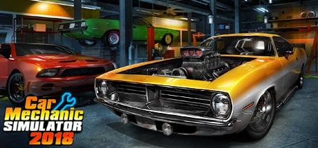 Car Mechanic Simulator 2018 Cover Image