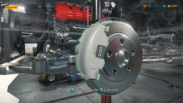 Скриншот №26 к Car Mechanic Simulator 2018