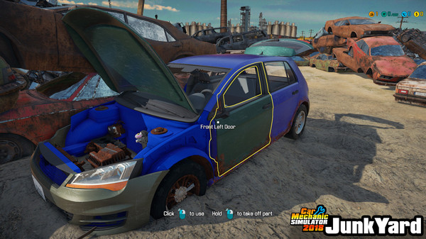 Скриншот №3 к Car Mechanic Simulator 2018