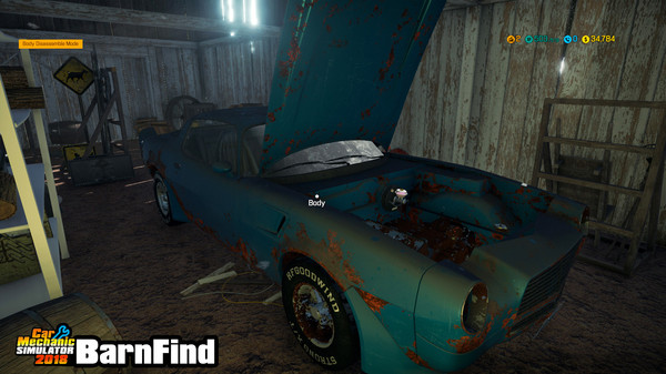 Скриншот №2 к Car Mechanic Simulator 2018