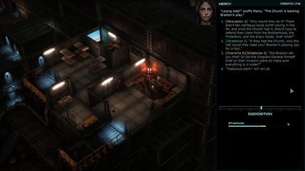 Скриншот №8 к Colony Ship A Post-Earth Role Playing Game