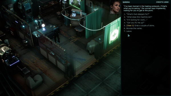Скриншот №4 к Colony Ship A Post-Earth Role Playing Game