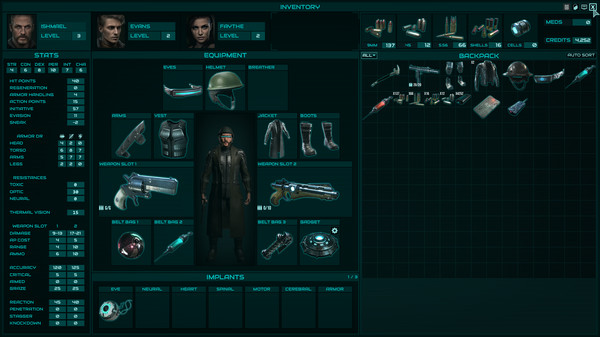 Скриншот №3 к Colony Ship A Post-Earth Role Playing Game
