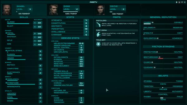 Скриншот №2 к Colony Ship A Post-Earth Role Playing Game