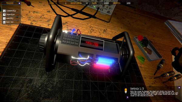 Скриншот №10 к ElectriX Electro Mechanic Simulator