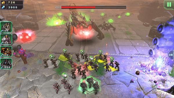 Скриншот №2 к Alien Hallway 2