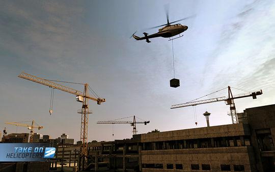 скриншот Take On Helicopters 3