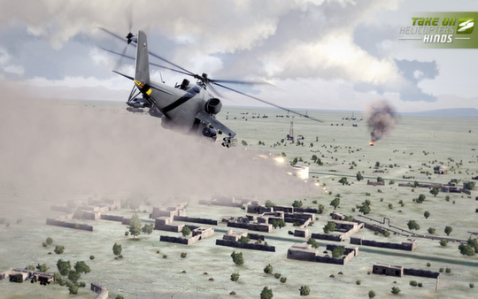 скриншот Take On Helicopters: Hinds 1