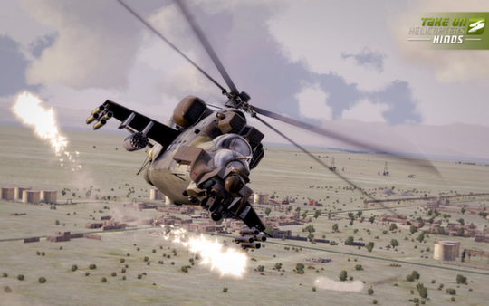 скриншот Take On Helicopters: Hinds 0