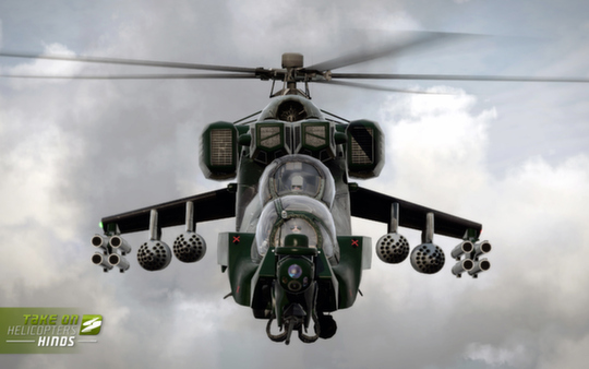 скриншот Take On Helicopters: Hinds 4