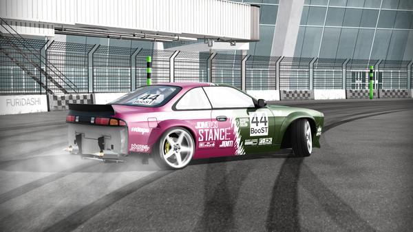 Screenshot of FURIDASHI: Drift Cyber Sport