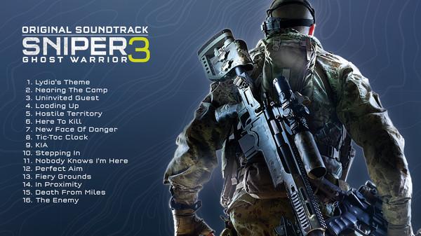 KHAiHOM.com - Sniper Ghost Warrior 3 Original Soundtrack