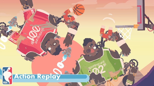Regular Human Basketball скриншот