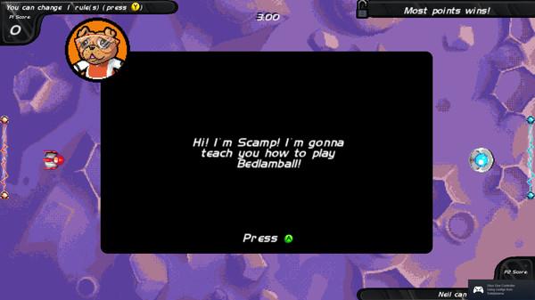 Bedlamball screenshot