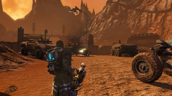 Red Faction Guerrilla Re-Mars-tered скриншот