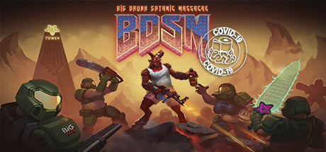 BDSM: Big Drunk Satanic Massacre Cover Image