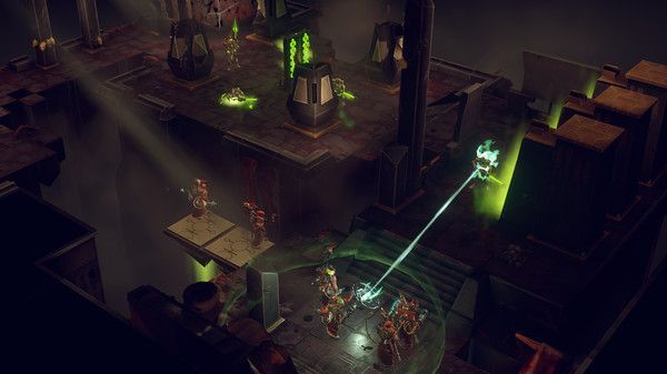 Скриншот №1 к Warhammer 40000 Mechanicus