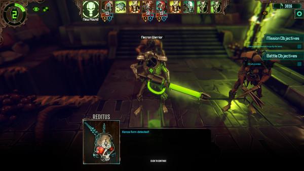 Скриншот №4 к Warhammer 40000 Mechanicus