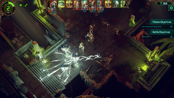 Скриншот №5 к Warhammer 40000 Mechanicus