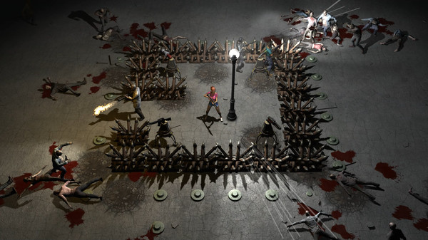 Screenshot of Yet Another Zombie Defense HD
