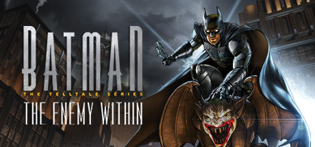 Batman: The Enemy Within - The Telltale Series Cover Image