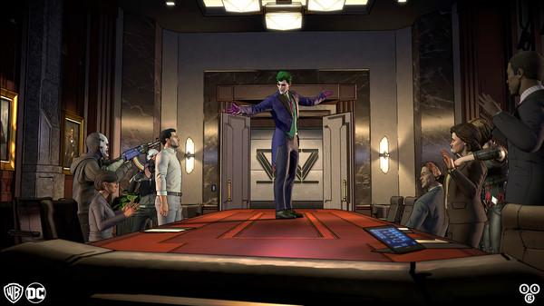 Скриншот №1 к Batman The Enemy Within - The Telltale Series