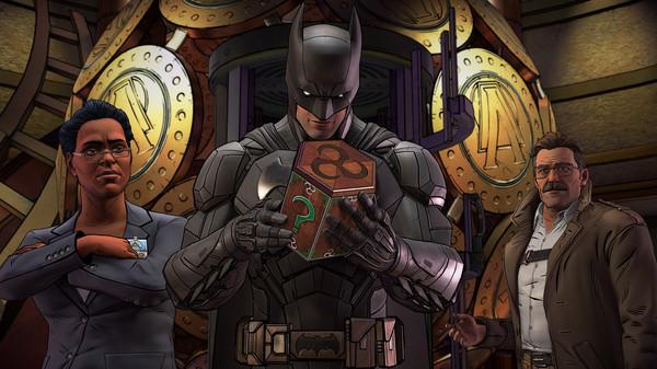 Скриншот №17 к Batman The Enemy Within - The Telltale Series