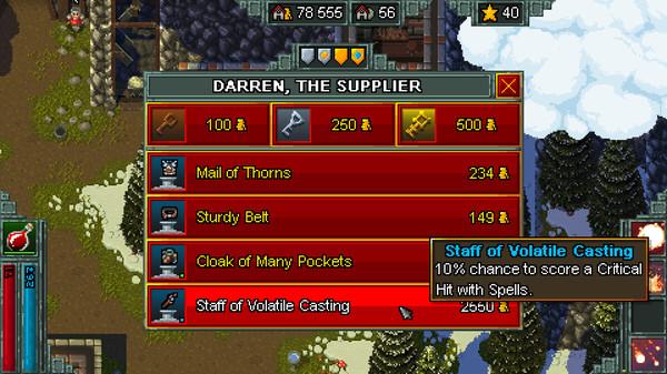 Screenshot of Heroes of Hammerwatch