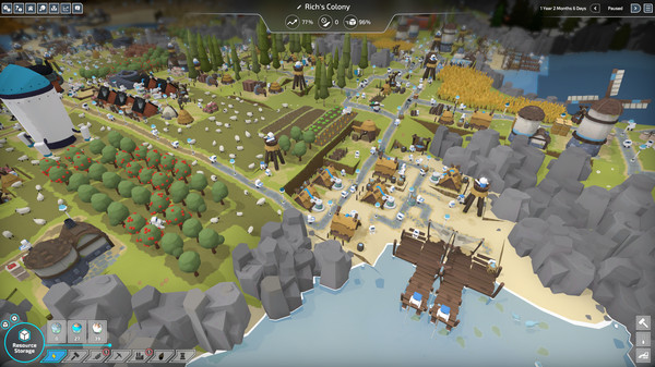 Скриншот №1 к The Colonists