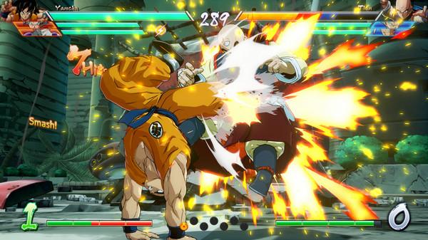 DRAGON BALL FighterZ скриншот