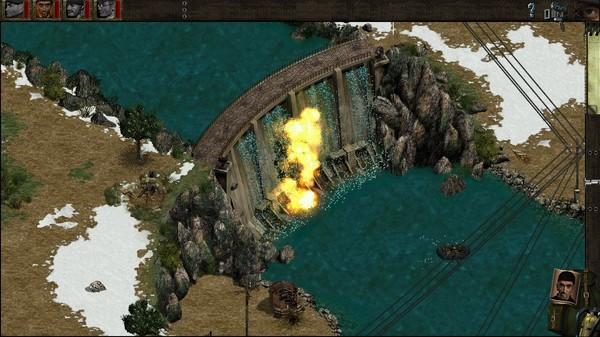 Скриншот №1 к Commandos Behind Enemy Lines