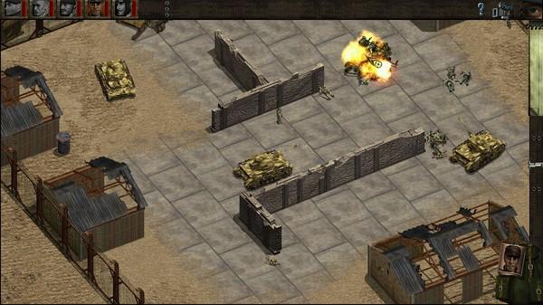 Скриншот №11 к Commandos Behind Enemy Lines
