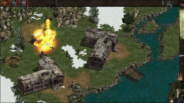 Скриншот №8 к Commandos Behind Enemy Lines