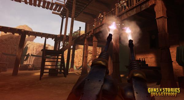 Скриншот №11 к GunsnStories Bulletproof VR