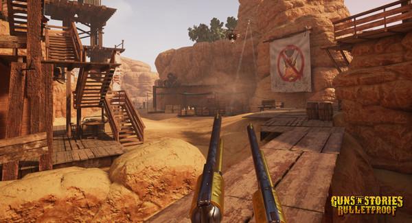 Скриншот №15 к GunsnStories Bulletproof VR