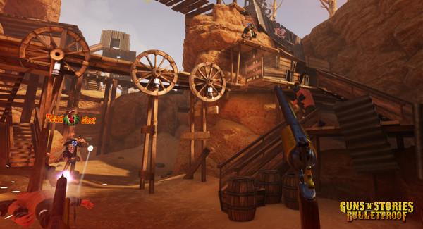 Скриншот №10 к GunsnStories Bulletproof VR