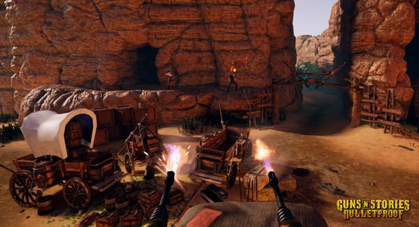 Скриншот №16 к GunsnStories Bulletproof VR