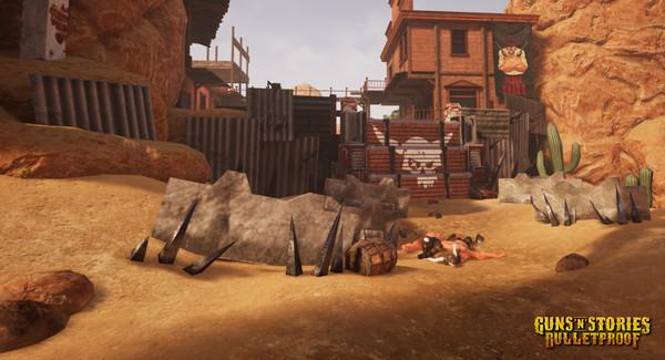 Скриншот №14 к GunsnStories Bulletproof VR