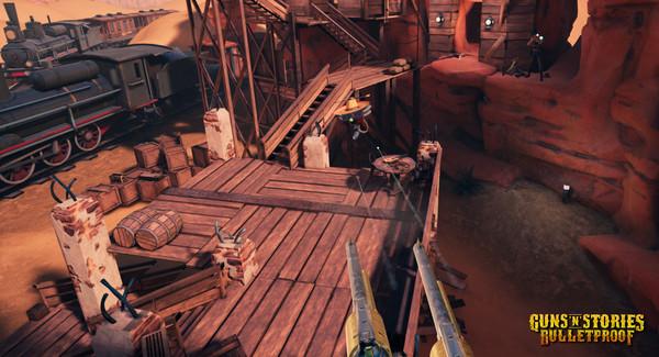Скриншот №13 к GunsnStories Bulletproof VR