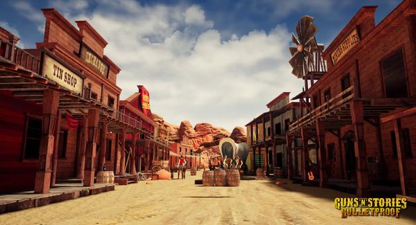 Скриншот №1 к GunsnStories Bulletproof VR