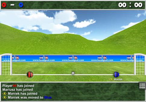 Screenshot of Head Goal: Soccer Online