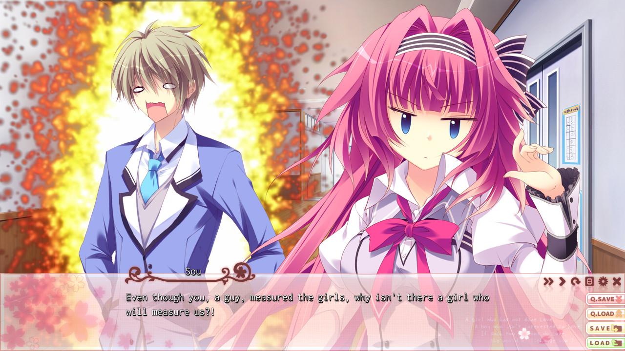 Saku Saku: Love Blooms with the Cherry Blossoms