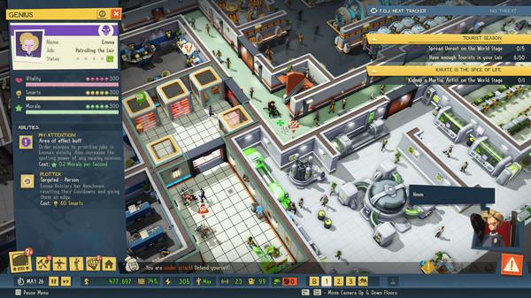 Скриншот №12 к Evil Genius 2 World Domination