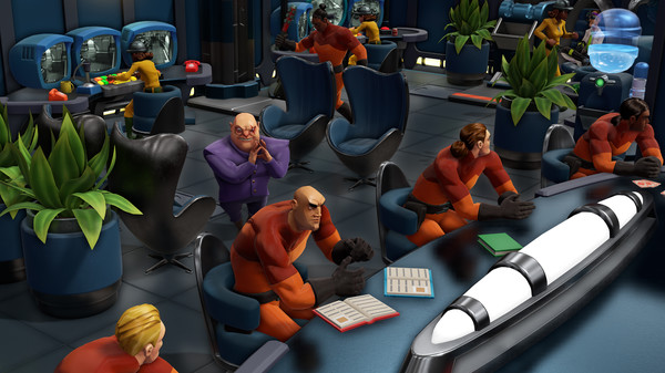 Скриншот №4 к Evil Genius 2 World Domination